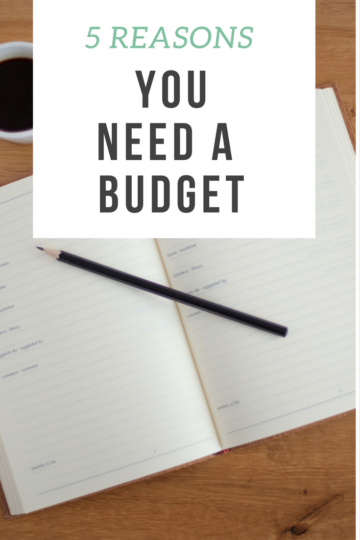 5 Reasons You Need a Budget