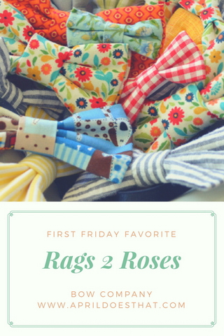 First Friday Favorite: Rags 2 Roses