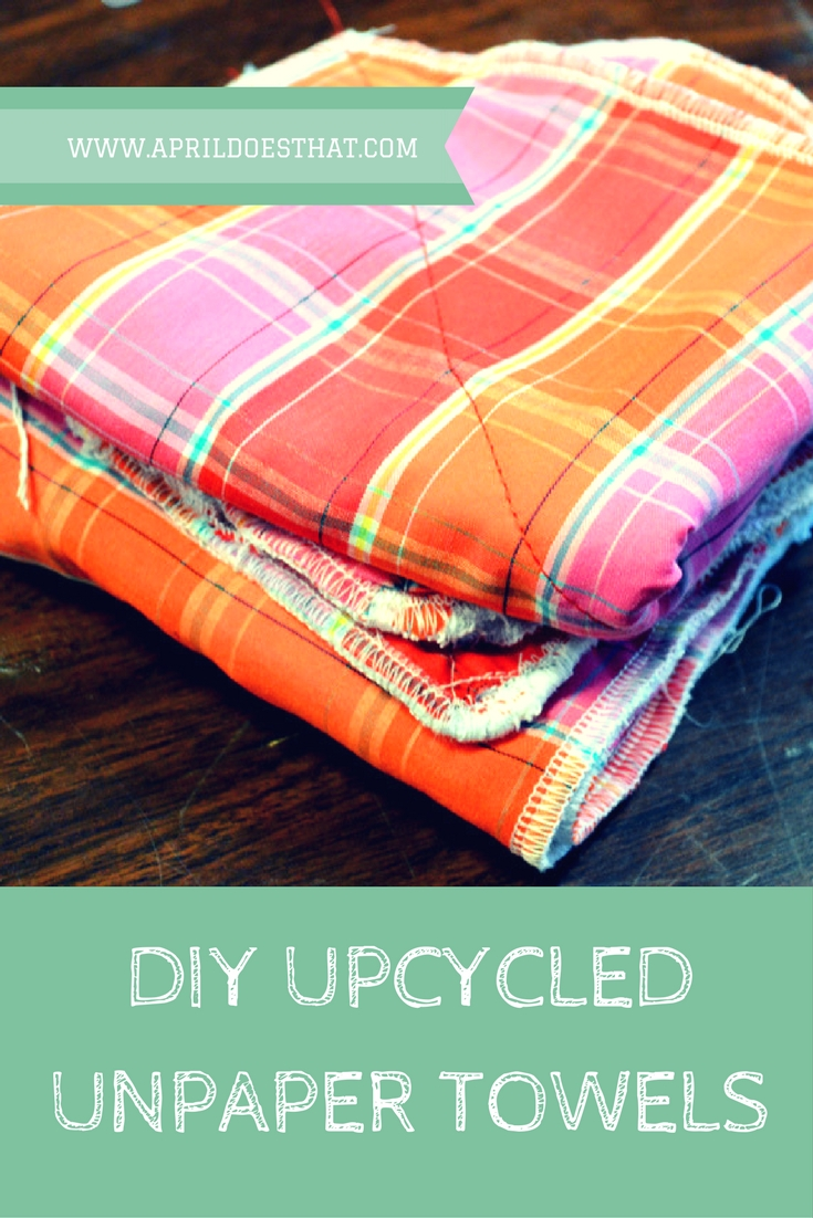 Upcycled Unpaper Towels