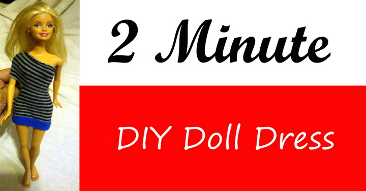 2 Minute Doll Clothes