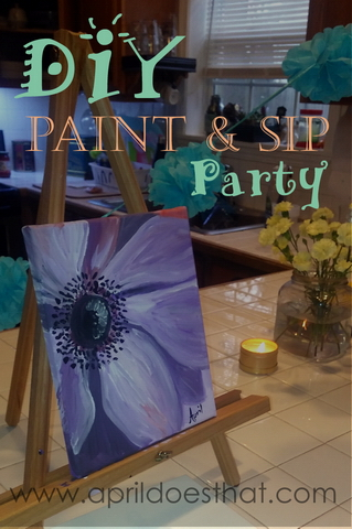 DIY Paint and Sip Party