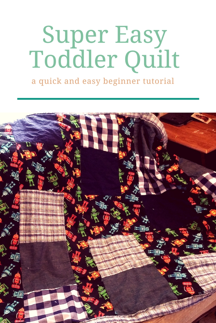 Super Easy Toddler Quilt