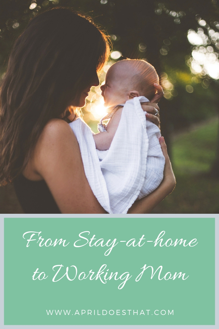 From Stay-at-Home to Working Mom
