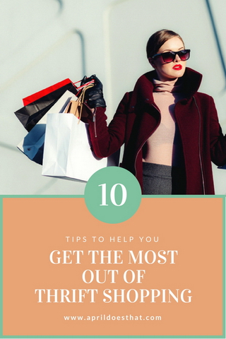 10 Tips for Thrift Shopping