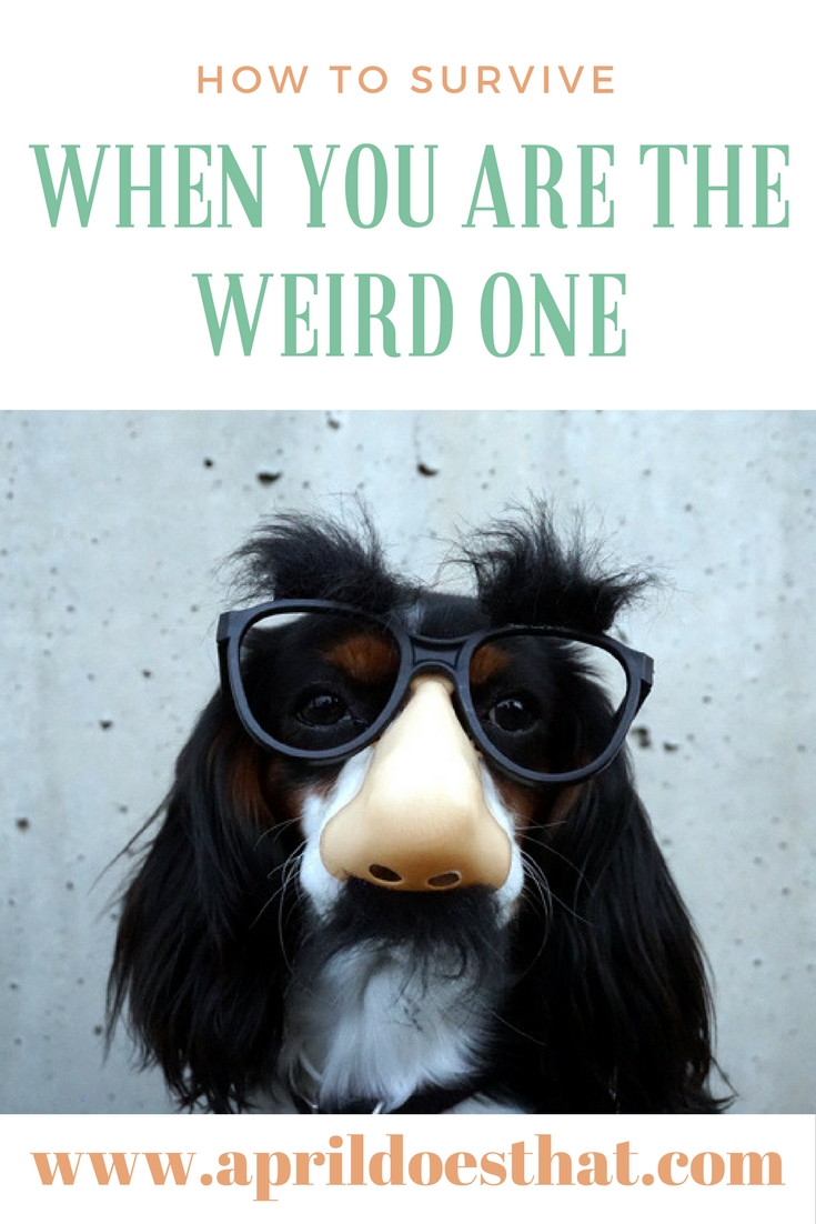 How to Survive When You are the Weird One